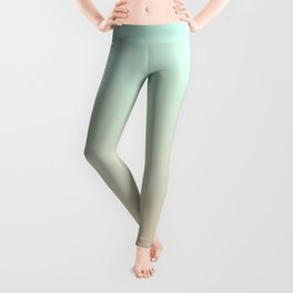 MELLOW TIMES - Minimal Plain Soft Mood Color Blend Prints Leggings
