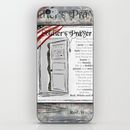Soldier's Prayer ~ Ginkelmier iPhone Skin