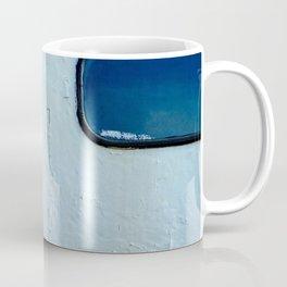 Old Diesel Locomotive Abstract Coffee Mug