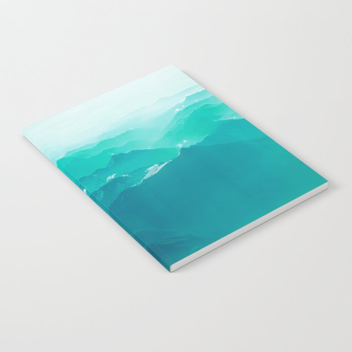 Mountain Waves Notebook