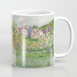 "Claude Monet ""Printemps à Giverny, effet d'après-midi"" Coffee Mug"