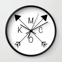 Kansas City x KCMO Wall Clock