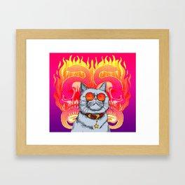 Natural Born Kittens Framed Art Print