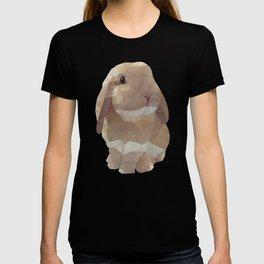 Peanut Bunny the Rabbit Polygon Art T-shirt