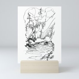 Drawing the Line Mini Art Print