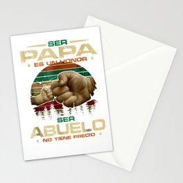 Ser Papa Es Un Honor Ser Abuelo No Tiene Precio T-shirt Stationery Cards