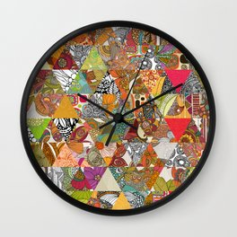 Like a Quilt Wall Clock