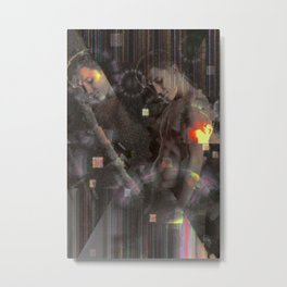 The Binding. Metal Print