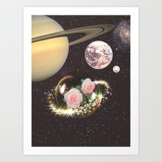 Dream planet Art Print