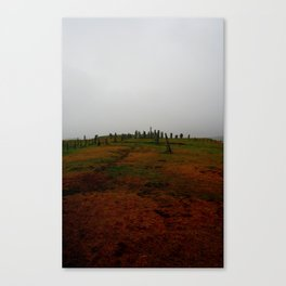 Standing Stones at Callanish Canvas Print