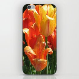 Golden Blooms iPhone Skin