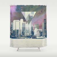 clueless Shower Curtains featuring Hipster Art by Rothko