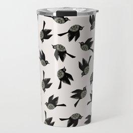 Blackbirds Flying Travel Mug