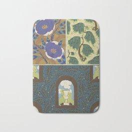 Art Deco vintage pattern Bath Mat