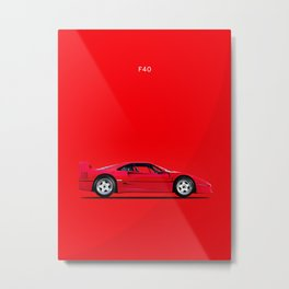 F40 Metal Print