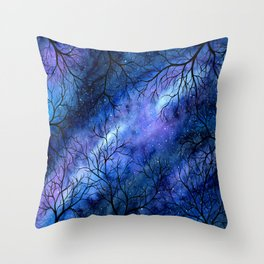 Keep Looking Up Throw Pillow
