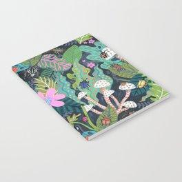 Beetle Pattern Notebook