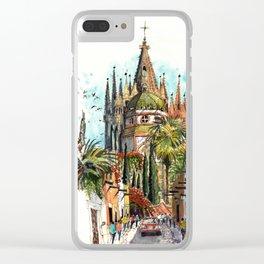 Calle Aldama, San Miguel de Allende Clear iPhone Case