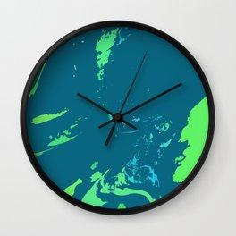 Digital Abstraction 007 Wall Clock