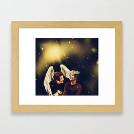 The Angel and The Prince Framed Art Print