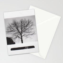 Black & White Tree Stationery Cards