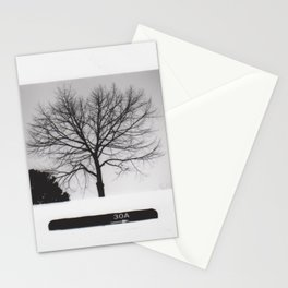 Black & White Tree Stationery Cards