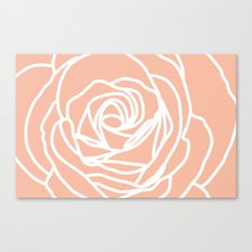 4x6 rose rug Canvas Print