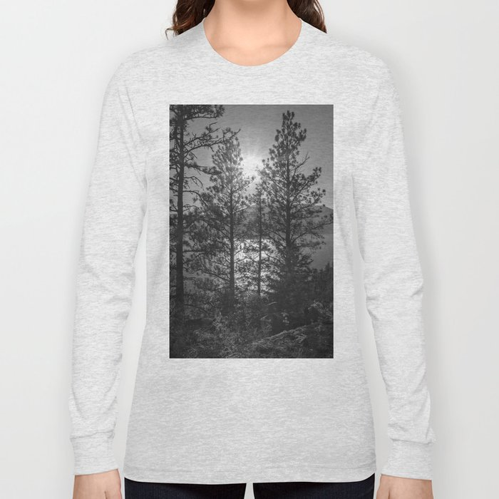 through the trees Long Sleeve T-shirt