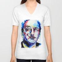 dreamer V-neck T-shirts featuring Dreamer by KlarEm