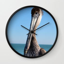 Pelican Stare Wall Clock
