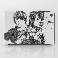 tegan and sara iPad Cases featuring Tegan & Sara by sostular