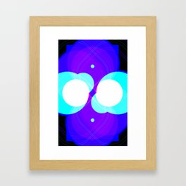 Chrome I Framed Art Print