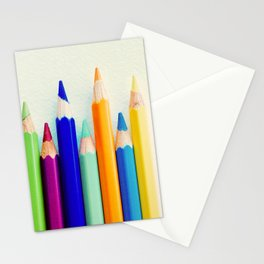 Points Up Stationery Cards