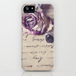 The way to your heart iPhone Case