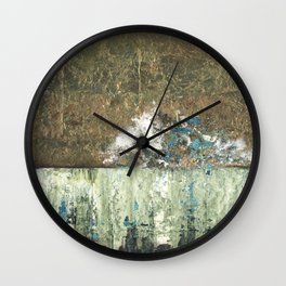 Tarnished Revisited Wall Clock