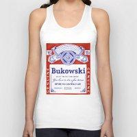 bukowski Tank Tops featuring bukowski by Mathiole