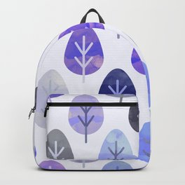 Watercolor Forest Pattern #5 Backpack