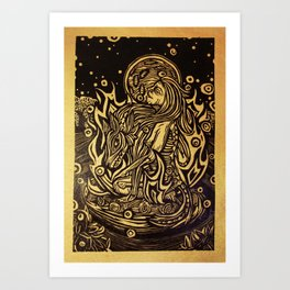 La Loba Art Print
