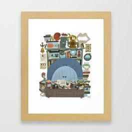 Professor Whale Framed Art Print