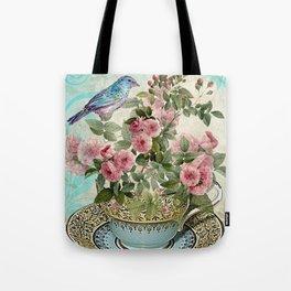 Tea Flower #1 Tote Bag