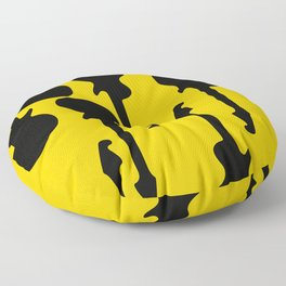 Simple Guitar Floor Pillow