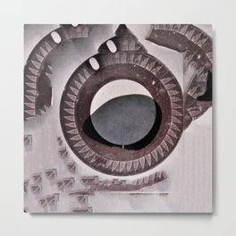 archeology of the future. Metal Print
