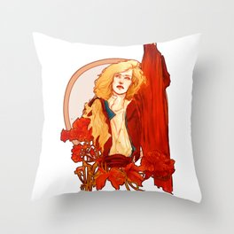Capable Of Being Terrible Throw Pillow