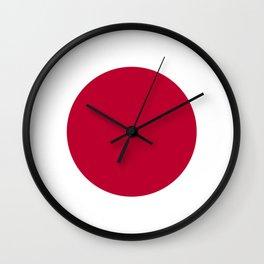 Flag of Japan - Japanese Flag Wall Clock