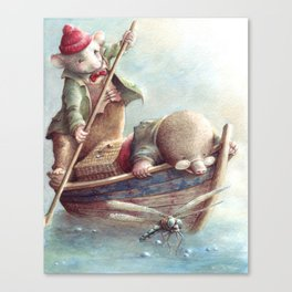 Friendship - The Wind in the Willows Canvas Print