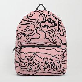 Travels of human skin Backpack