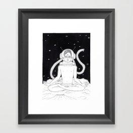 21 Space Thai (Stars) Framed Art Print
