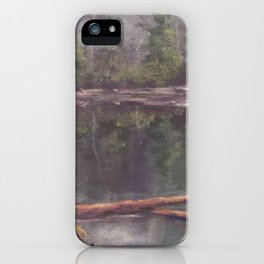 Quiet Reflections AC120811a iPhone Case