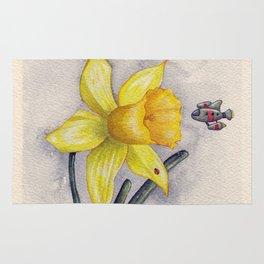 Future Botanical Studies - Daffodil Rug