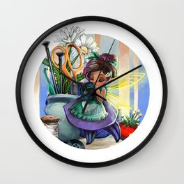 Crafting Sprite Wall Clock
